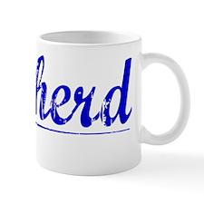 Cowherd, Blue, Aged Mug