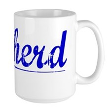 Cowherd, Blue, Aged Mug