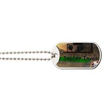 Soccer Invasion Dog Tags