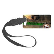 Soccer Invasion Luggage Tag