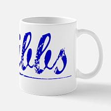 Cribbs, Blue, Aged Mug