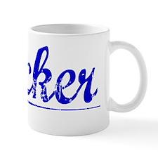 Crocker, Blue, Aged Mug