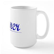Conner, Blue, Aged Mug