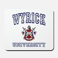 WYRICK University Mousepad