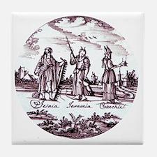 ASIAN TILE Tile Coaster