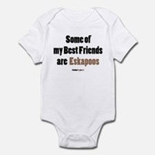 Eskapoo dog Infant Bodysuit
