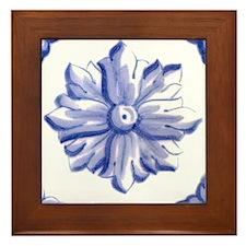 DELFT FLOWER TILE Framed Tile