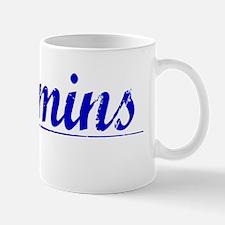 Cummins, Blue, Aged Mug
