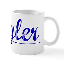 Cuyler, Blue, Aged Mug