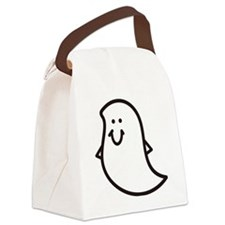 Ghost Canvas Lunch Bag