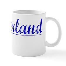 Cumberland, Blue, Aged Mug