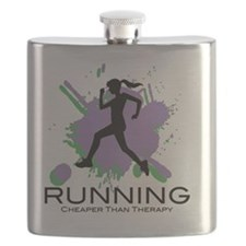 Running Cheaper than Therapy Flask