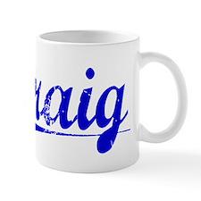 Craig, Blue, Aged Small Mugs