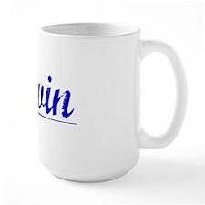 Davin, Blue, Aged Mug