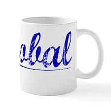 Cristobal, Blue, Aged Mug