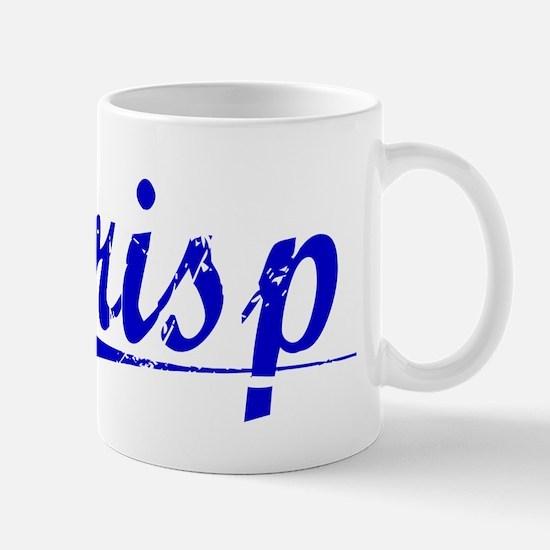Crisp, Blue, Aged Mug