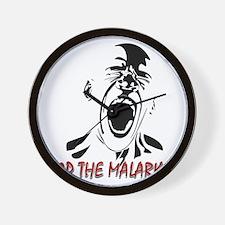 Stop the malarkey Wall Clock