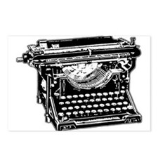 Old Fashioned Typewriter Postcards (Package of 8)