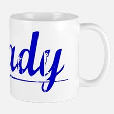 Deady, Blue, Aged Mug