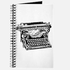 Old Fashioned Typewriter Journal
