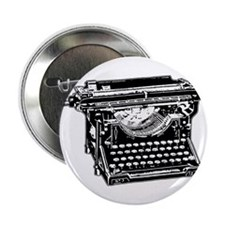 Old Fashioned Typewriter Button