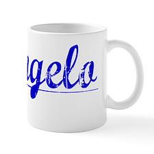 Deangelo, Blue, Aged Mug