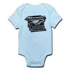 Old Fashioned Typewriter Infant Bodysuit