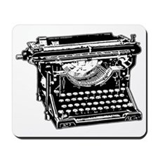 Old Fashioned Typewriter Mousepad