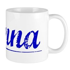 Danna, Blue, Aged Small Mug
