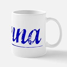 Danna, Blue, Aged Small Small Mug