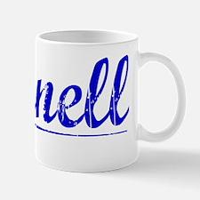 Darnell, Blue, Aged Mug