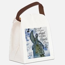 Angel Visits Canvas Lunch Bag