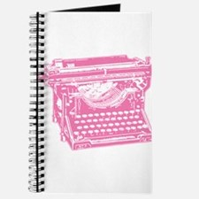 Pink Typewriter Journal