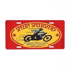speedsters2-OV_CAP Aluminum License Plate