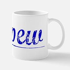 Depew, Blue, Aged Mug
