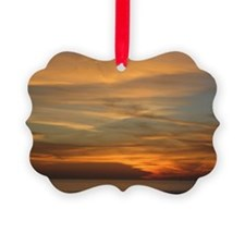 San Diego sunset 2 Ornament