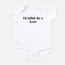 Rather be a Civet Infant Bodysuit