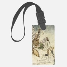 A Fairy Song Luggage Tag