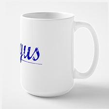 Dingus, Blue, Aged Mug