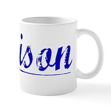 Denison, Blue, Aged Mug