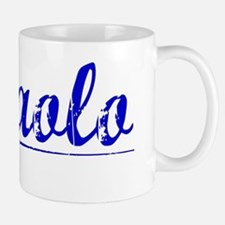 Dipaolo, Blue, Aged Mug