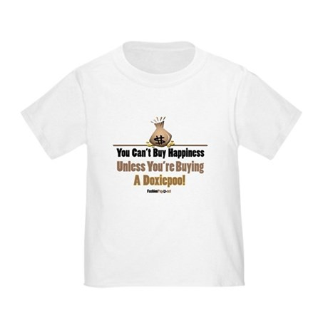 Doxiepoo dog Toddler T-Shirt