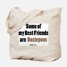 Doxiepoo dog Tote Bag