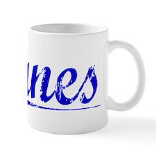 Eanes, Blue, Aged Mug