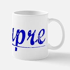 Dupre, Blue, Aged Mug