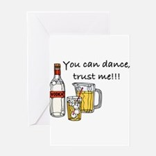 you can dance vodka Greeting Cards