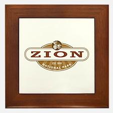 Zion National Park Framed Tile