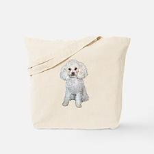 Poodle - Min (W) Tote Bag