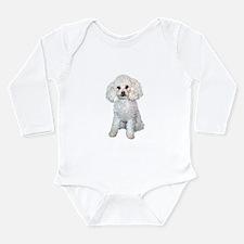 Poodle - Min (W) Long Sleeve Infant Bodysuit