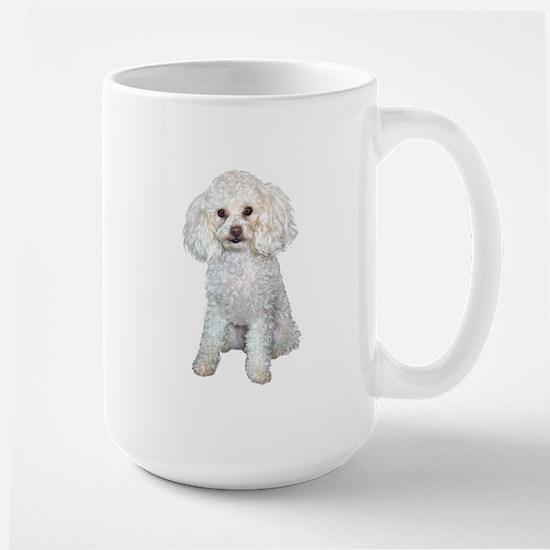 Poodle - Min (W) Large Mug